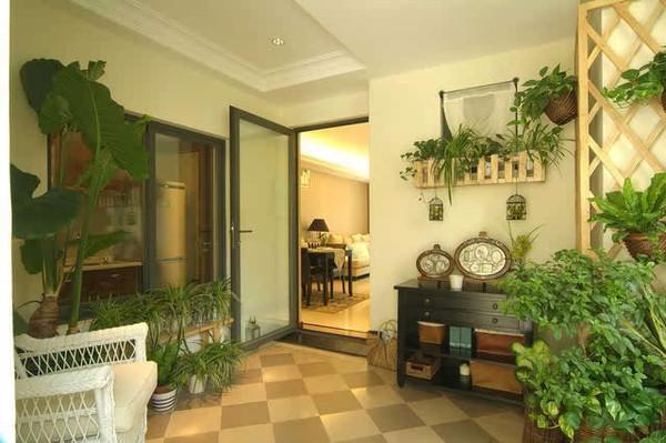 现代家居花园风格装修