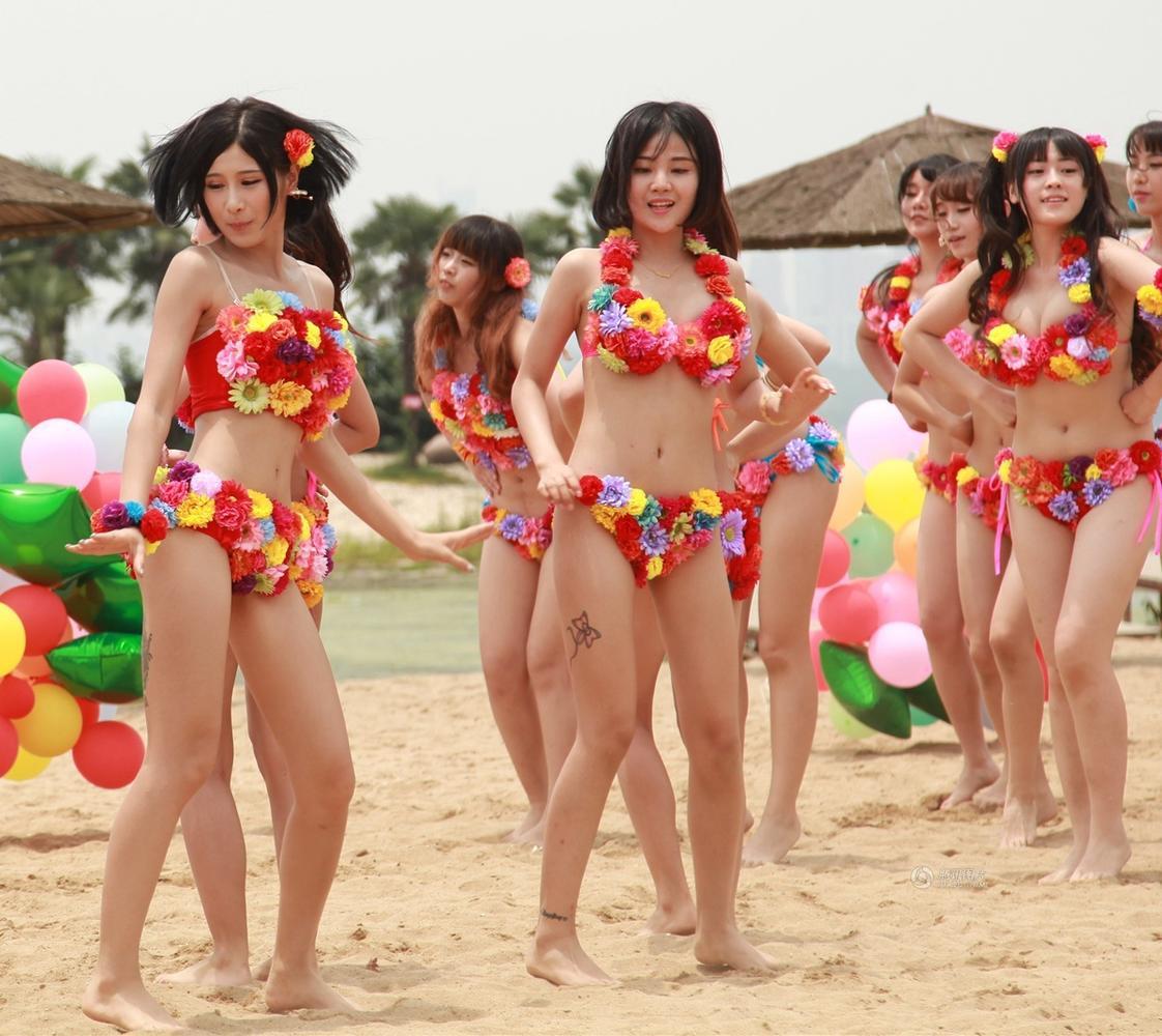 中国女团模仿日本akb48