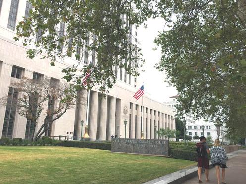 法官决定赵世兰案推迟至2016年4月5日审理。美国《星岛日报》/李宁 摄