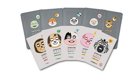 奇幻动物脸谱面膜   菲诗小铺奇幻动物脸谱面膜是韩国国内