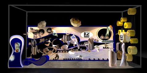 """如果说利郎""""梵想""""概念秀掀起了整个感映大展的高潮,那么利郎L2时尚艺术体验中心就是一个贯穿全程的亮点。给了所有热爱绘画和梵高的人一次把艺术融入生活的机会。"""