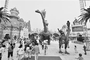沈波 中华恐龙园要 逃离主题公园