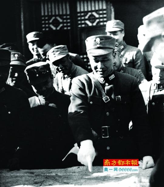 1938年白崇禧在武汉。