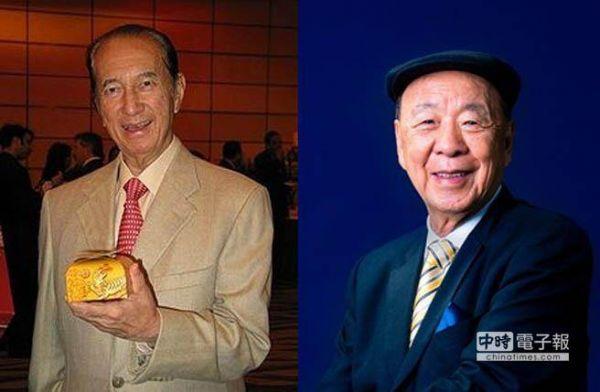 澳门新旧两大赌王,左为何鸿�觯�右为吕志和。(图片来源于网络)