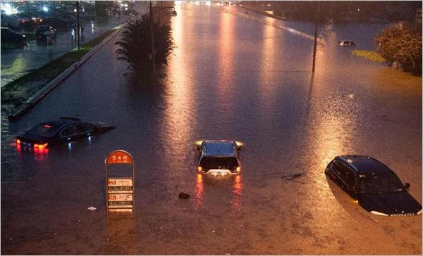 北京大暴雨_梅雨季如何才能不看海?我国城市道路排水标准至少要提高一倍