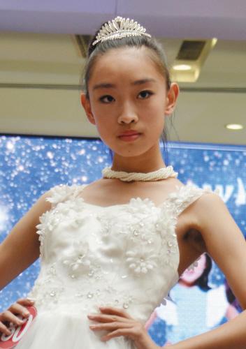 倪安琪 13岁