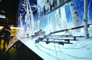 东北抗联战士武器。