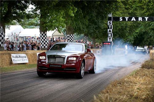 劳斯莱斯汽车邀请您共享古德伍德速度节高清图片