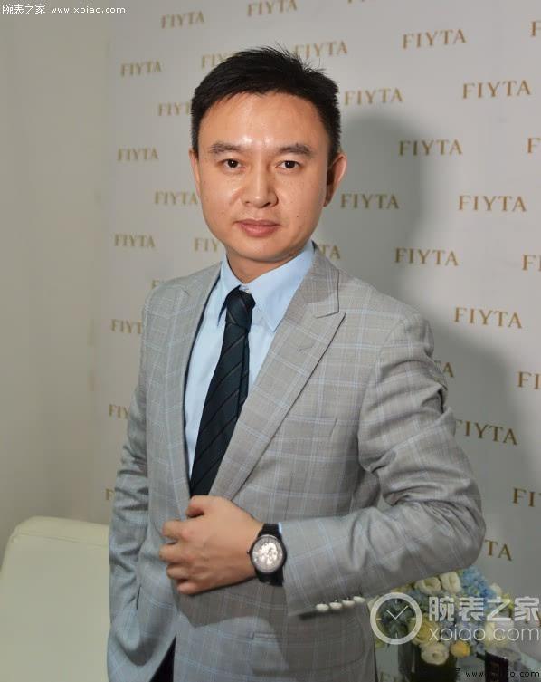 时刻前行 专访飞亚达销售有限公司总经理潘波先