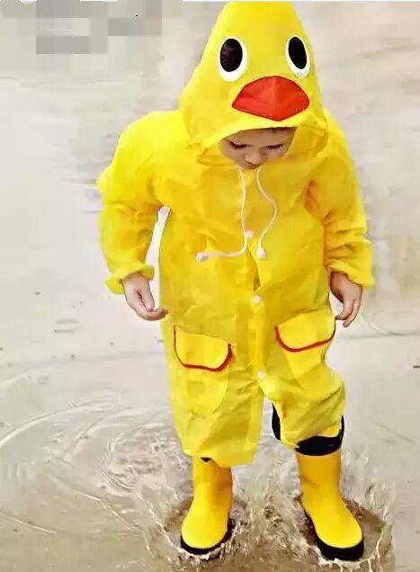 为孩子而设计的那些雨衣图片