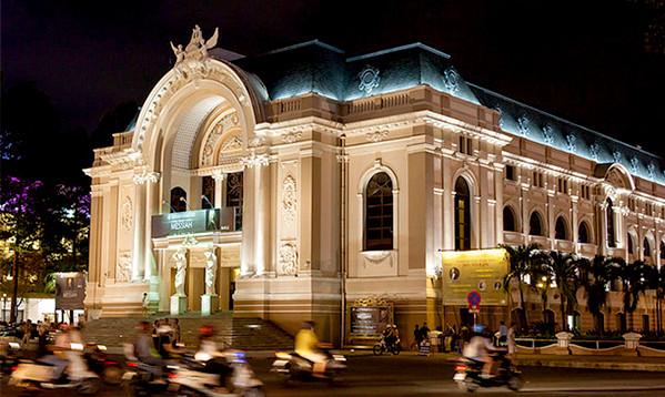 4.西贡歌剧院saigon opera house