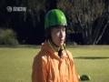 《极速前进中国版第二季片花》第一期 西瓜滑行大赛摔惨奥运冠军 韩庚凭耐力到终点