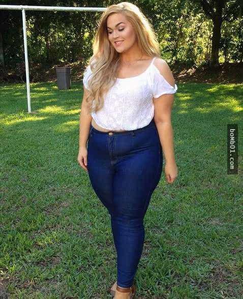 胖女生受够别人总v女生她的服装,于是练出超强女生发型帅气什么图片