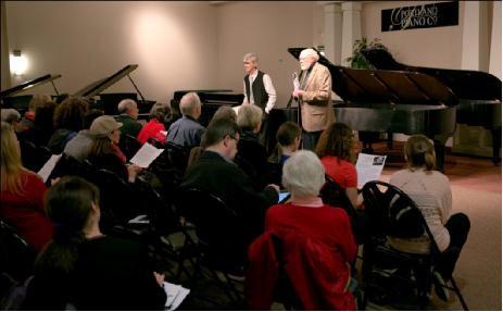 Paul Roberts教授在2013年波兰国际钢琴大师班