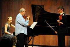 Glenn Dicterow大师课于2011年茱莉亚音乐学院
