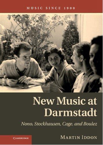 马丁・伊登的著作《达姆施塔特的新音乐》封面