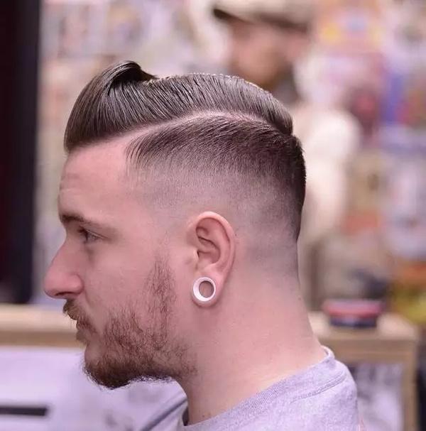 2015男士复古发型席卷欧美