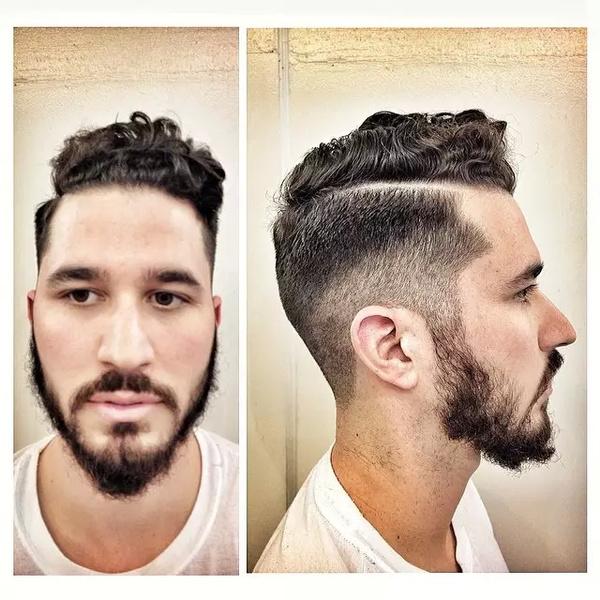 2015男士复古发型席卷欧美图片