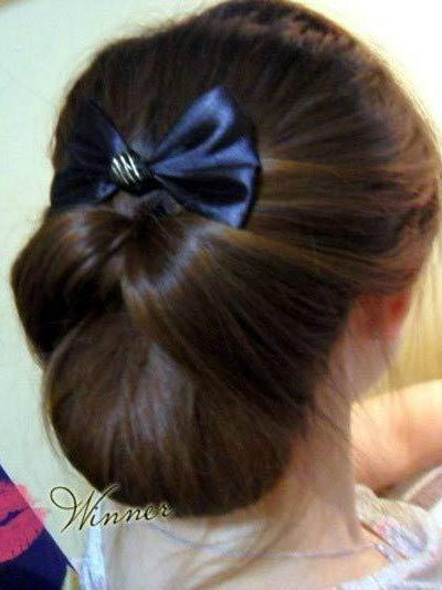 100种扎头发的方法