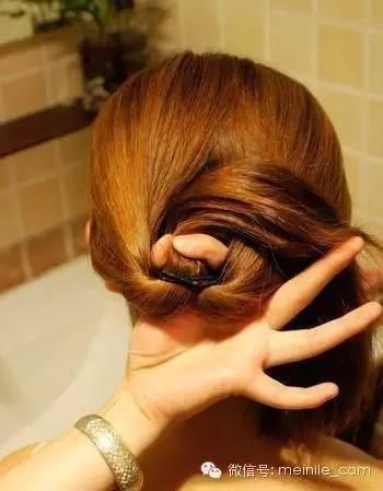 绑头发的方法图片_图片教程:扎头发的方法100种,非常漂亮哦!