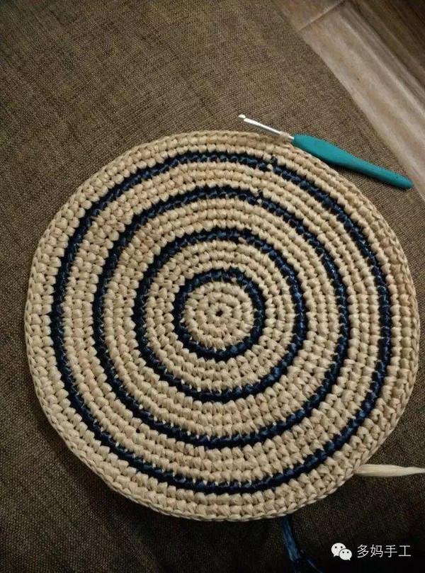 手工钩织地毯fenjie