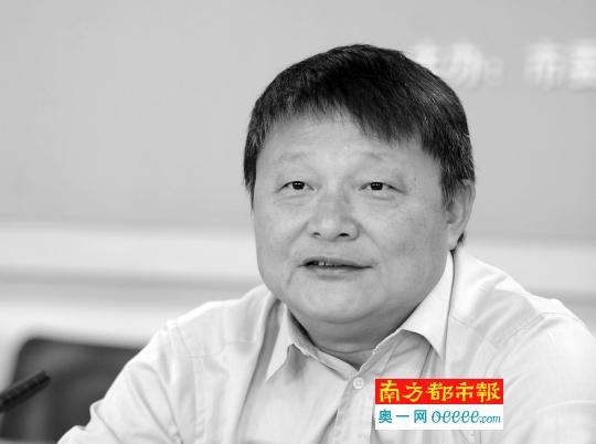 中山市委副布告、政法委布告邓小兵。南都记者 叶志文 摄