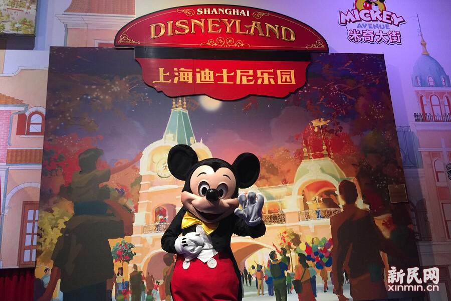 圖為上海迪士尼樂園米奇大街。
