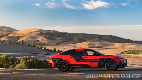 奥迪RS 7无人驾驶车信息曝光高清图片