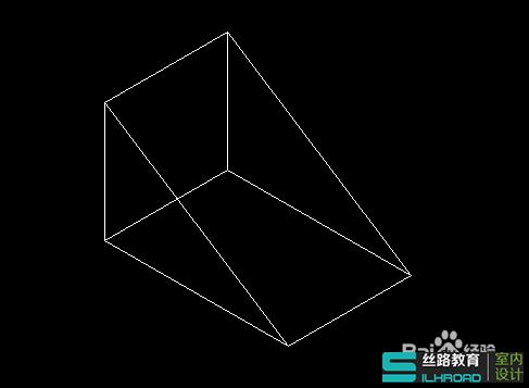 以上就是autocad块速绘制三维立体之楔体教程,希望大家喜欢!图片