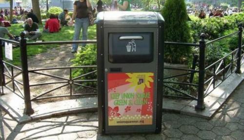 /美国垃圾处理公司让垃圾桶变身公共Wi/Fi 热点(图)
