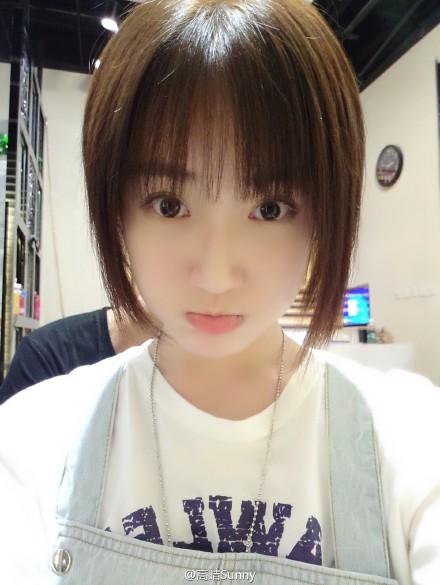 中国最美校服女生高晴生活照