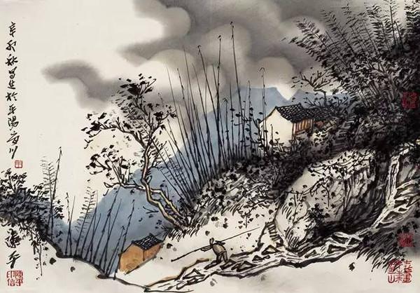 南雁荡山写生之十 艺术历程 艺术历程: 1980年 考入中央美术学院国画图片