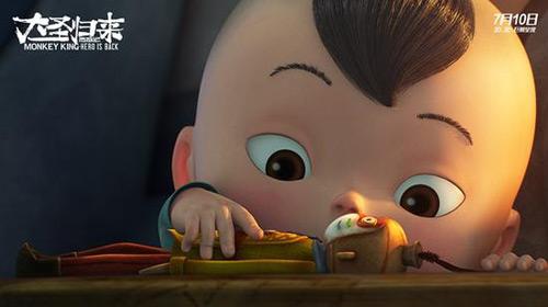 搜狐亲子华语v亲子讯7月16电影,《西游记之大圣归来》的日晚单日适合票房看的小电影图片