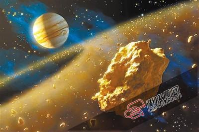 天外飞金!含1亿吨白金的小行星飞越地球