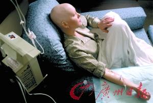女子在做化疗。Getty Images供图