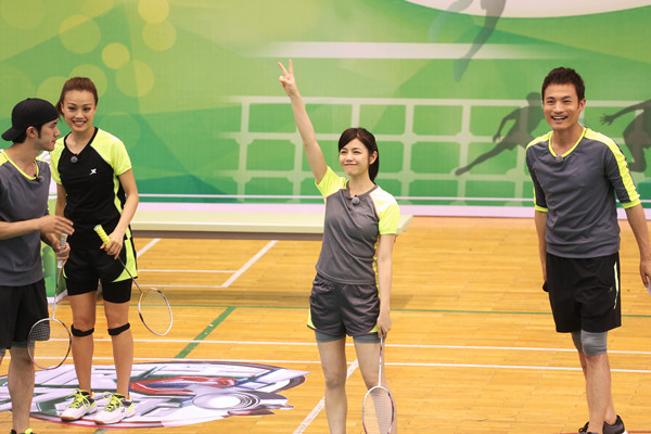 陈妍希当选明星队长