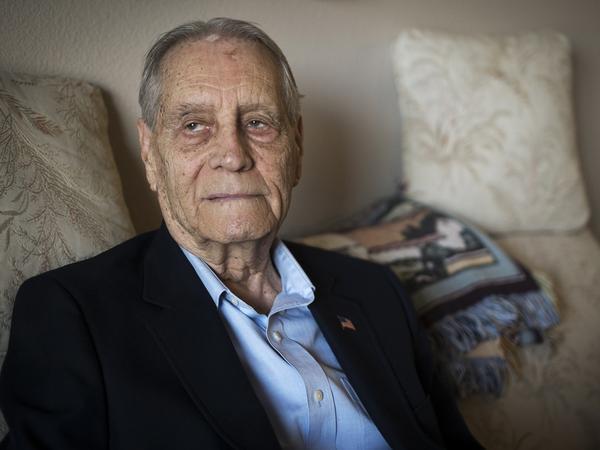2015年7月16日,二战战俘詹姆士・墨菲先生的家,他将收到三菱公司的正式道歉。 图片来自网络