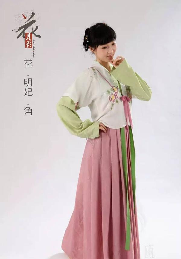 中国古代女性服饰系列篇之一醉美汉服图片