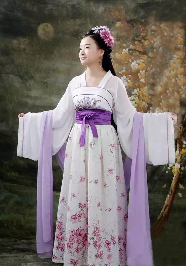 中国古代女性服饰系列篇之一醉美汉服!图片