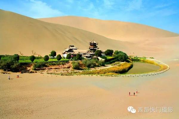 中国神奇的沙漠绿洲