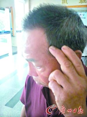 蒋老师被当做人估客,头部被人打伤