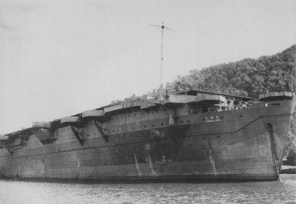 熊野丸号航空母舰