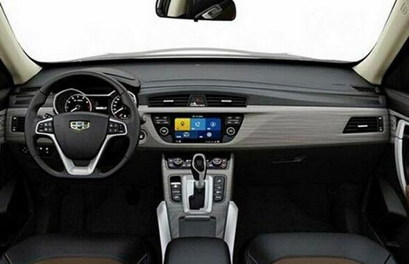 吉利全新SUV年内上市 比概念车还漂亮高清图片