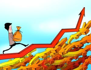 微信众筹炒股风险大。CFP供图