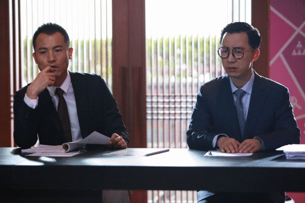 王茂蕾(左)与耿乐(右)
