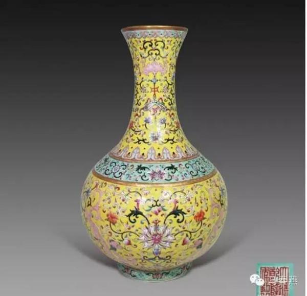 珐琅彩瓷器 种类