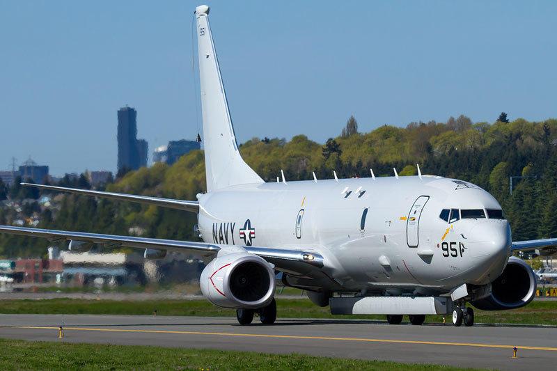 ?9an9?i?/?]?i*yh_图中p-8a反潜机腹部安装了一台an/aps-149有源电扫阵列(aesa)雷达