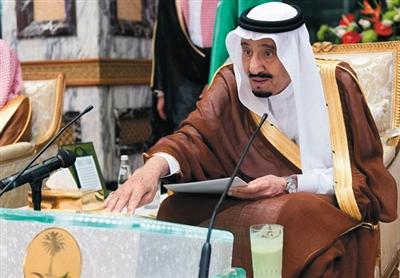沙特国王萨勒曼・本・阿卜杜勒-阿齐兹