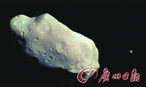"""""""铂金小行星""""直径只要500米摆布。"""