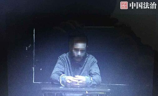 警方公布男司机道歉画面